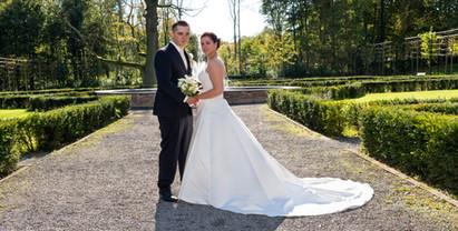 Hochzeitfoto Klassisch im Park Anneke Hagen de Waal