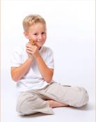 Kinderfotp mit Hamster