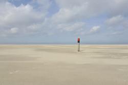 weiter Strand auf Texel