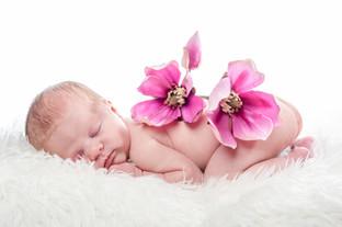 Babyfoto Milou im Träumeland