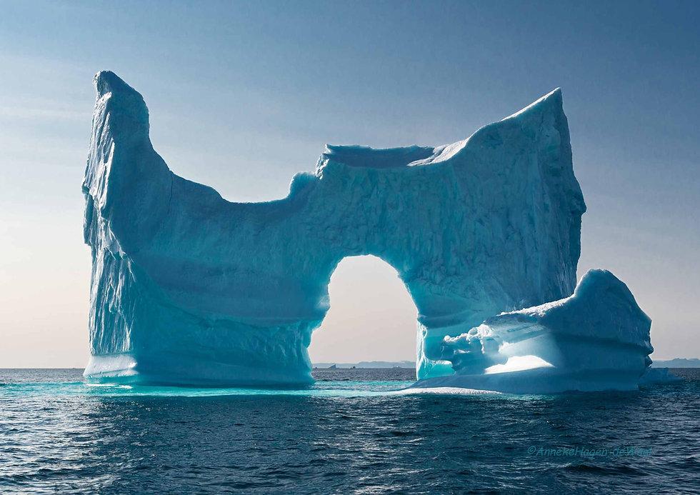 Eisberg Skulptur Discobucht Grönland
