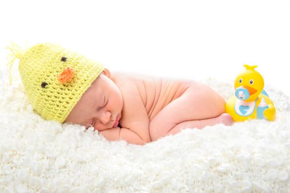 Babyfoto, Babyporträt schlafend