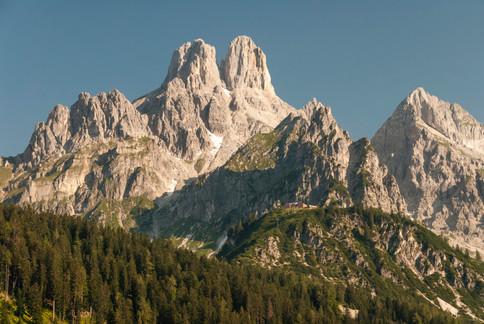 Bischofsmützenmassiv im Salzburgerland