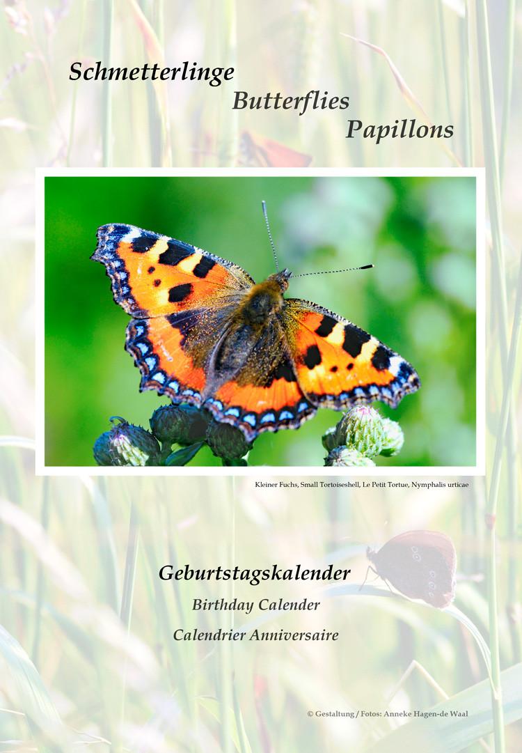 Kleiner Fuchs Geburtstagskalender Frontseite