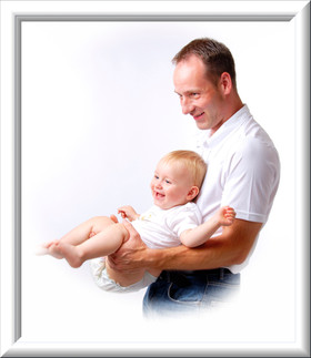 Vater und Sohn Portätfoto