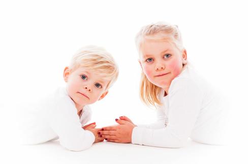Kinderfoto Bruder und Schwester