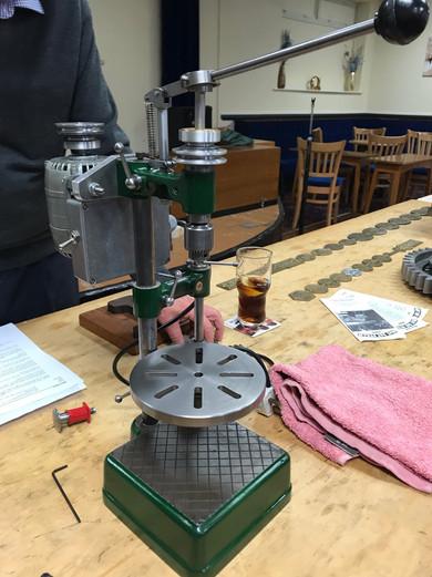 George Thomas Sensitive Drilling Machine