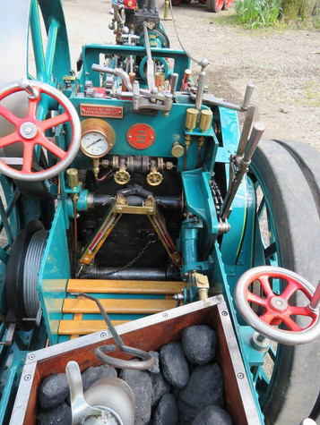 """4"""" Foster Traction Engine"""