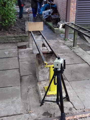 Laser Level for assessing gradients