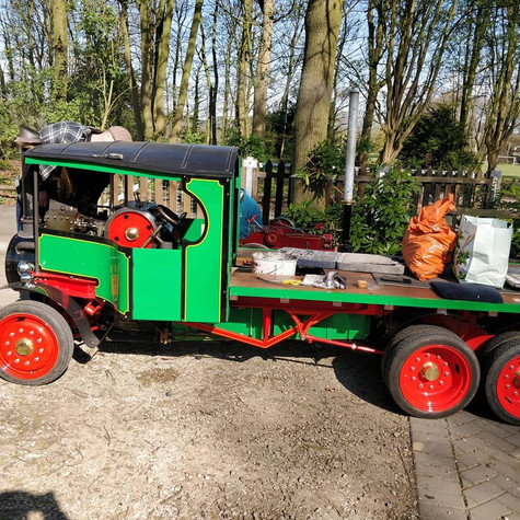 "6"" Scale Foden Steam Wagon"