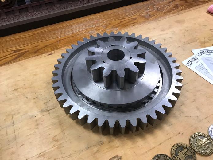 """6"""" Scale Fowler B2 gearing"""