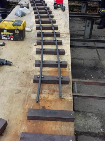 50ft Radius Track Panel
