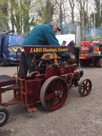 """Savage traction engine in 4"""" Scale"""