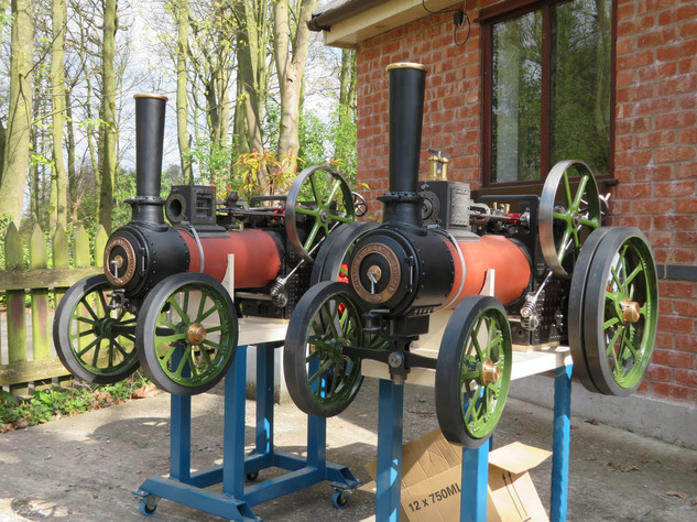"""3"""" Foster Traction Engines"""