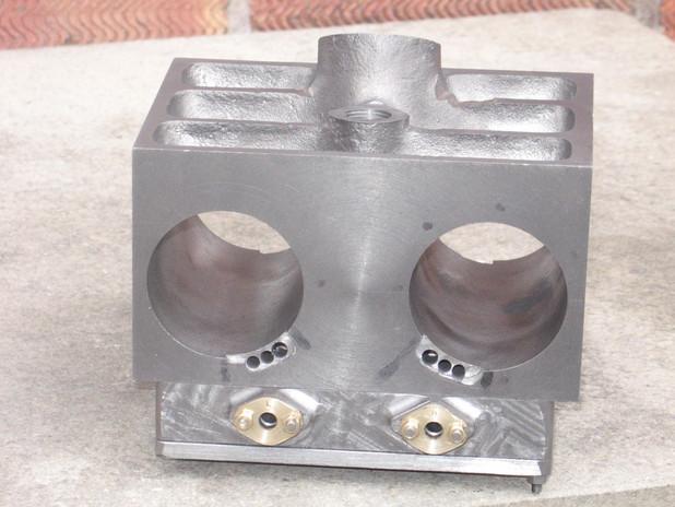 Cylinder block & Steam Chest