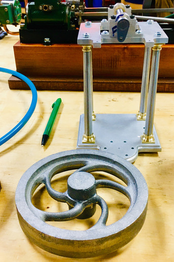 Muncaster Simple Entablature Engine