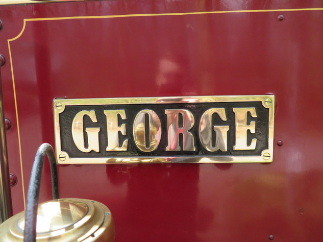 Foden wagon nameplate