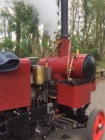 Suffolk Dredging Tractor