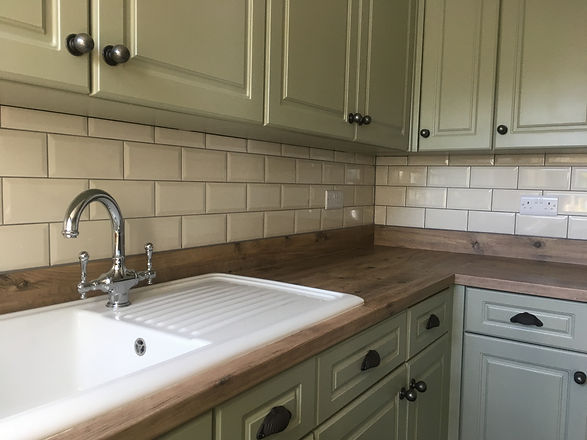 Kitchen Tiling Geldeston