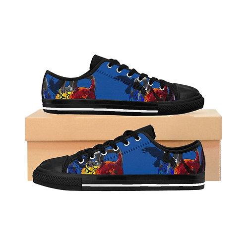 Kettlebell fly Women's Sneakers - blue