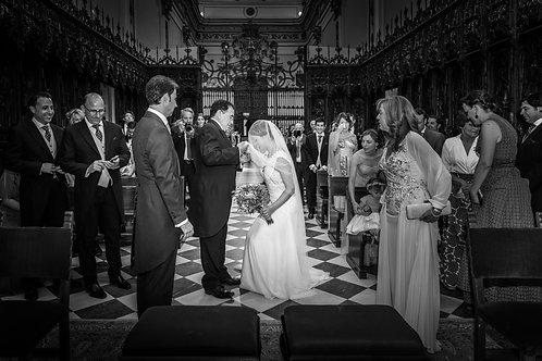 Las fotografías de la boda
