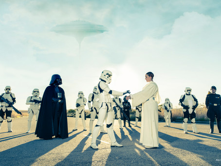 ¡Han y Leia se casan! Preboda Star Wars en Madrid