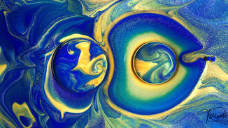 Terracollage Tencent TGPC Youngs China Nanjing 8K Stock Footage projection mapping key visual bubble planet oil fluid art paint colorful color micro microscopic ink fluid Abstract Macro Experimental Practical cgi by Roman De Giuli