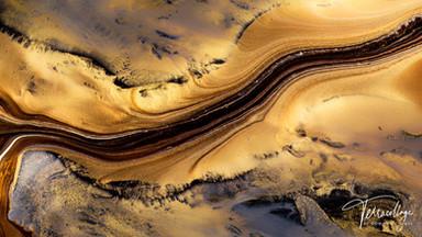 Terracollage 8K Olympic Games Geodaehan Organic Visuals Macro Experimental Fluid Art by Roman De Giuli
