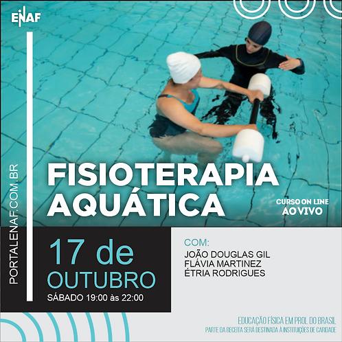 FISIOTERAPIA AQUÁTICA - 17/10 - CURSO ONLINE