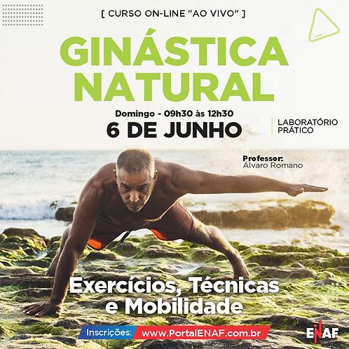 GINÁSTICA NATURAL - 06 JUNHO - ONLINE