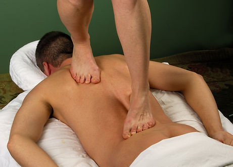 Gravity Assisted Barefoot Back Massage.j