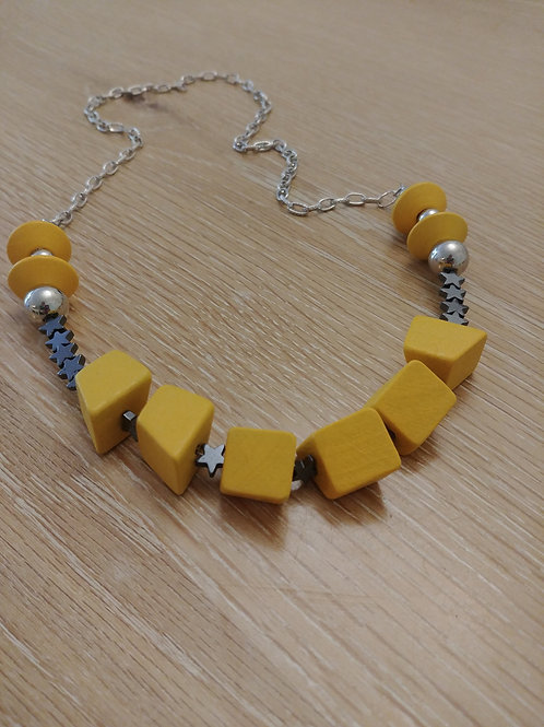 צהובה אסימטרית