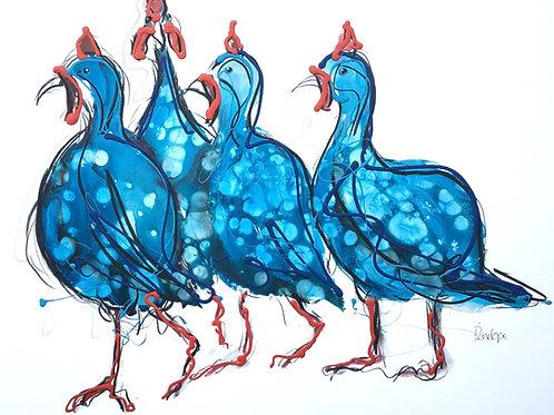 Deja Vu ( Guinea Fowl)