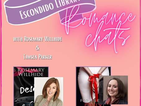 061 - Erotic Romance with Rosemary Willhide and Tamsen Parker