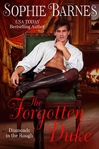 Cover of the Forgotten Duke by Sophie Barns