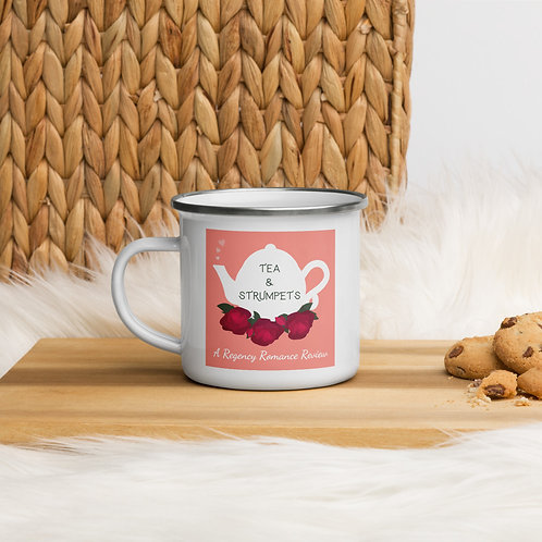 Tea & Strumpets Enamel Mug