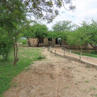 Khalanga African Restaurant Entrance