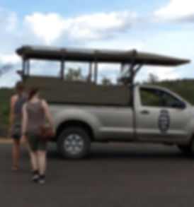 Guests returning to the vehicle