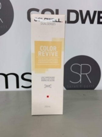 DUAL SENSES COLOR REVIVE LIGHT WARM BLONDE