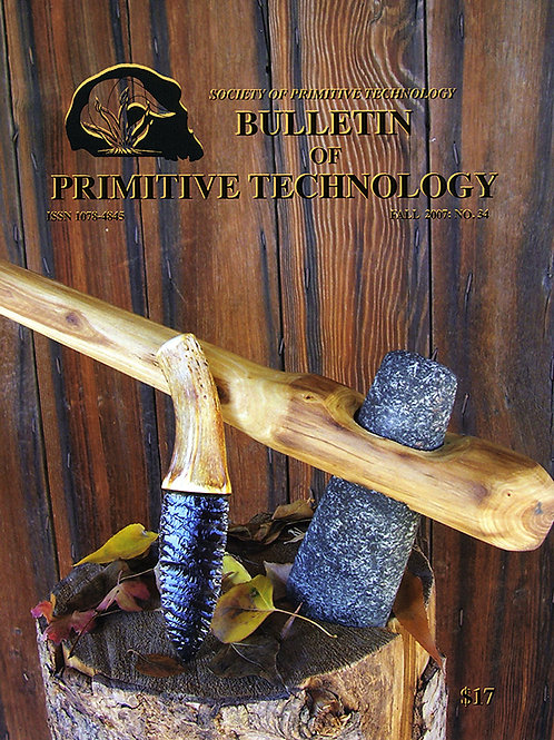 Bulletin #34 - Primitive Woodslore