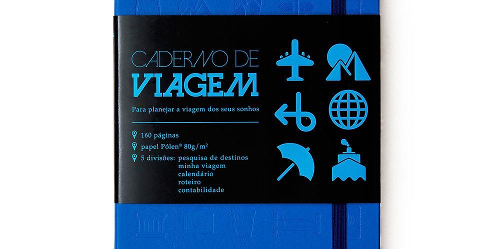 Caderno de Viagem - 14x21cm