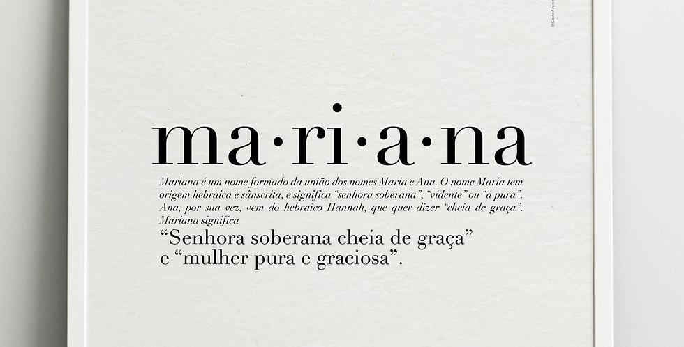Quadro Nomes Com Amor...