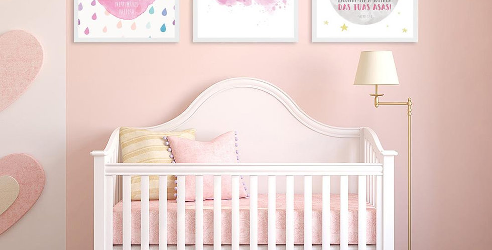 Kit Quadros Baby Decor