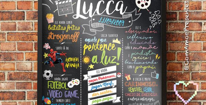 Chalkboard Grande (50x70cm)