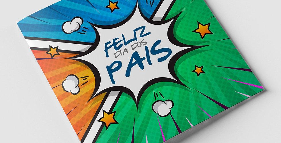 Álbum de Figurinhas Dia dos Pais