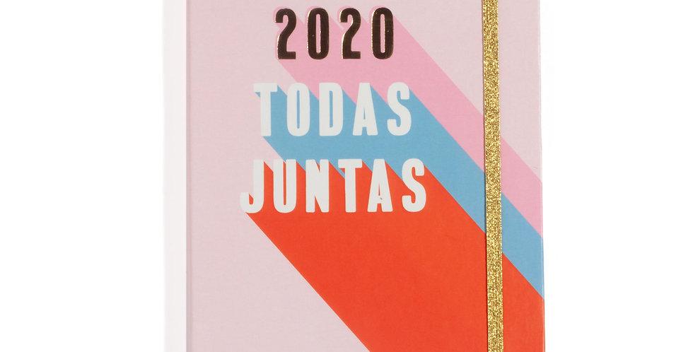 Agenda Planner 2020 Todas Juntas - 14x21cm