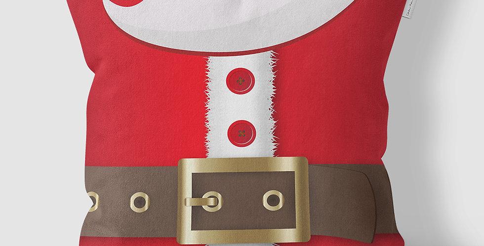 Capa de Almofada Barriga do Papai Noel