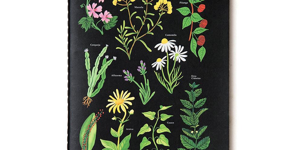 Caderneta Jardins Verticais - 14x21cm