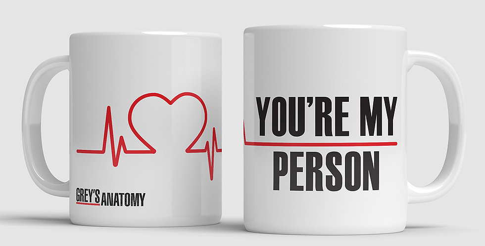 Caneca Grey's Anatomy - My Person