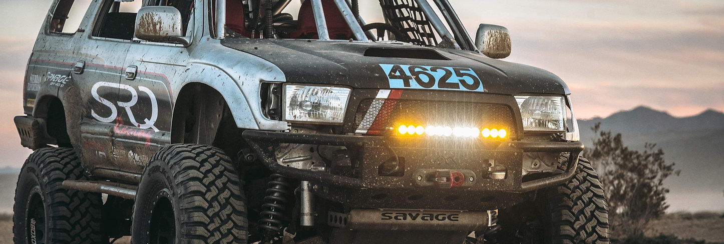 96-02 4RUNNER OPEN WING HYBRID BUMPER - DIY KIT
